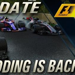 F1 2017 MODDING IS BACK!!!!!!!