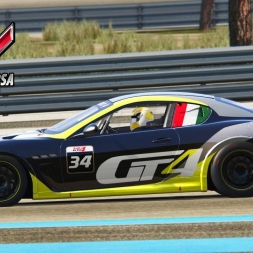 Assetto Corsa - Maserati MC GT4 at Paul Ricard (PT-BR)