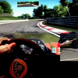 pC2 - Nordschleife - Lotus 56 - 105% AI race/track day