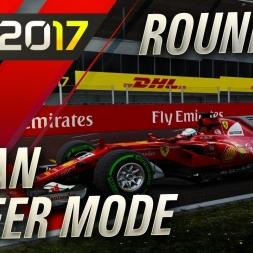 F1 2017 Career Mode CRAZIEST RACE ALL SEASON!!!!!!