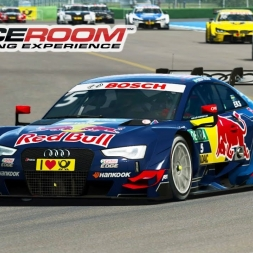 Raceroom - Audi RS5 DTM at Hockenheim (PT-BR)