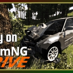 Rally on BeamNG.Drive (with Fails)