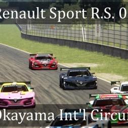 Assetto Corsa: Renault Sport R.S. 01 @Okayama Int'l Circuit