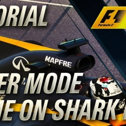 F1 2017 NAME ON SHARK FIN FOR CAREER MODE TUTORIAL