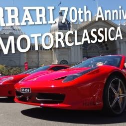 Ferrari 70th Anniversary - MotorClassica 2017, Concours d'Elegance, Melbourne