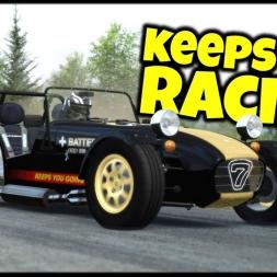 Keeps You Racing - Caterham 7 Super Sprint / Kičevo Race Track - Assetto Corsa