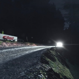 [DiRT Rally] - Lancia Stratos - Bronfelen, Wales - 07:44.198 - Night - G27 FHD@50