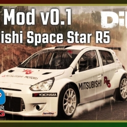 Dirt 4 - RFPE Mod v0.1 - Mitsubishi Space Star R5 (with fails)