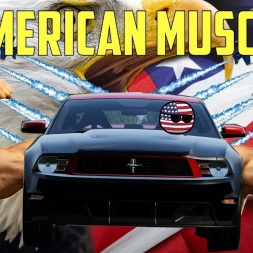 AMERICAN MUSCLE - Ford Mustang Boss 302 Laguna Seca at Nordschleife - Assetto Corsa VR