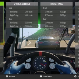 NASCAR HEAT 2:  Daytona w/ Setup (Infinity Series, 50%) 105% AI