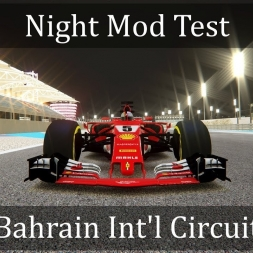Assetto Corsa: Bahrain Int'l Circuit w/ Night Mod Test