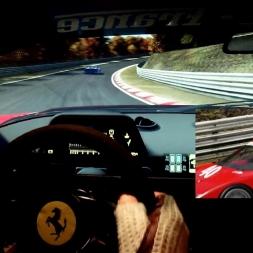 pC2 - Nordschleife - Ferrari F40 LM GTO - PRO AI race
