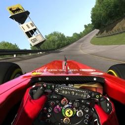 [Assetto Corsa 1.8] - Ferrari F138 - Monza '66 Full - 1.54.720 - Logitech G27 - FHD@60