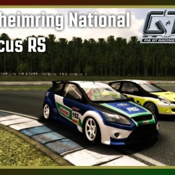 GTR 2 - Hockenheimring National - Ford Focus RS