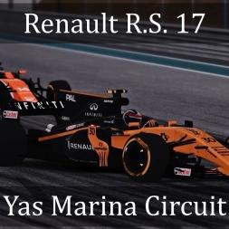 Assetto Corsa: Renault R.S. 17 // Yas Marina Circuit