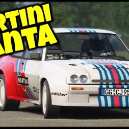 Martini Manta - Opel Manta S1 / Putnam Park - Asseto Corsa