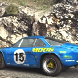[DiRT Rally] - Live Career - Alpine A110 - Col Turini desc., Monaco - Rally - G27 HD