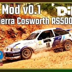 Dirt 4 - RFPE Mod v0.1 - Ford Sierra Cosworth RS500 (with fails)