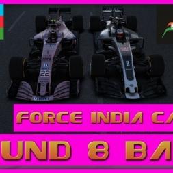 F1 2017 Career Mode Force India - Round 8 Baku - GP2 Engine