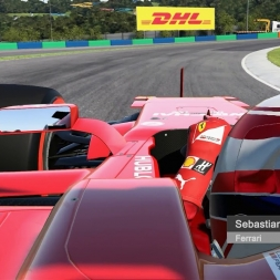 F1 2017 Real Sound - SF70-H onboard Hungaroring - Cam Mod 1.1
