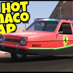 Red Hot Monaco Lap - Reliant Robin Mk.1 / Monaco 1988 - Assetto Corsa