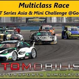 Automobilista (1.4.81r) - Multiclass Race - EEC GT3 Mod and Mini Challenge @Goiânia Short