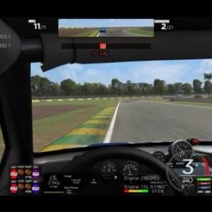 Carrera ( Racedepartmen) Fiat uno / Floripa ( Buen pique por el 2º puesto )