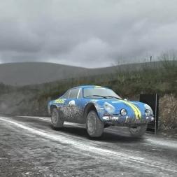 [DiRT Rally] - Live Career - Alpine A110 - Bidno Moor, Wales - Rally - G27 HD