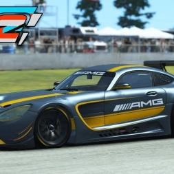 Rfactor 2 - Mercedes AMG GT3 at Sebring (PT-BR)