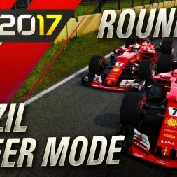 F1 2017 Career Mode THE FINAL SPRINT TO ABU DHABI