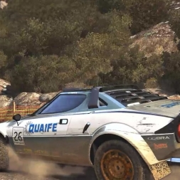 [DiRT Rally] - Live Career - Lancia Stratos - Fourkéta, Greece - Rally - G27 HD