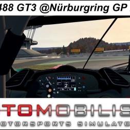 Automobilista (1.4.81r) - Ferrari 488 GT3 @Nürburgring GP Autumn