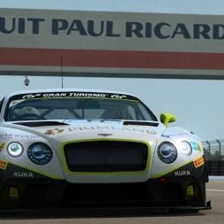 RaceRoom LeaderBoard + Setup   Bentley GT3 @ PAUL RICARD 1A 1:50.1xx