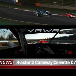 rFACTOR 2 Callaway Corvette at ISTANBUL GP