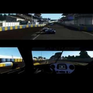rFACTOR 2 RADICAL RXC GT3 at LeMANS