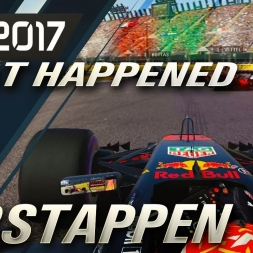 F1 2017 USA GP WHAT HAPPENED TO VERSTAPPEN!!!