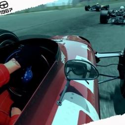 Assetto Corsa Mixed Reality Ferrari 312/67 Vs Lotus 49 Battle At Sandevoerde