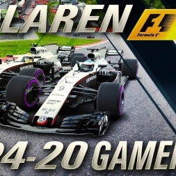 F1 2017 DRIVING THE McLAREN MP4-20 GAMEPLAY