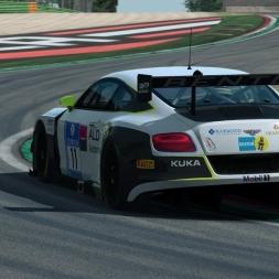 RaceRoom LeaderBoard + Setup   Bentley GT3 @ Imola 1:41.498
