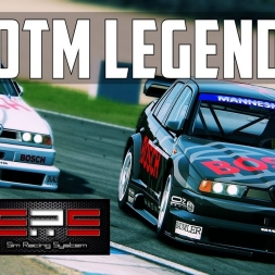 VR | AWESOME RACE WITH THIS DTM LEGEND - Alfa Romeo V6 TI @ Donington - Sim Racing System DTM Race