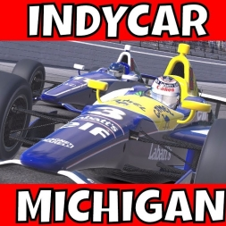 iRacing Indycar at Michigan