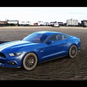 Don't Spare the Horses - Mustang 2015 at Barbagallo (Assetto Corsa)