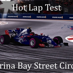 Assetto Corsa: Torro Rosso STR12 Hot Lap // Marina Bay Street Circuit