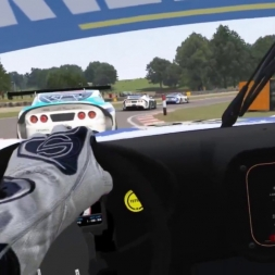 Assetto Corsa VR - Ginetta SuperCup race at Oulton Park