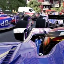 F1 2017 GAME CRASH COMPILATION #2