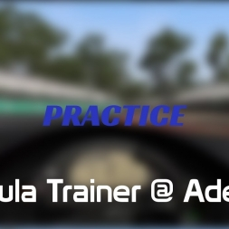 Practice - Formula Trainer @ Adelaide