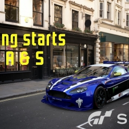 Gran Turismo Sport - Standing starts for 'SR' A & S races