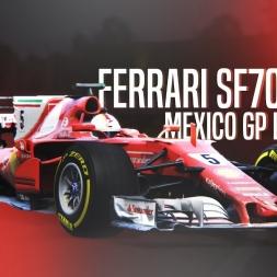 Assetto Corsa | Ferrari SF70H Onboard - Mexico GP lap