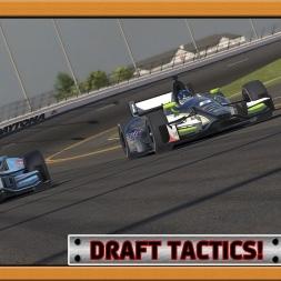 """""""iRacing: Draft Tactics!"""" (Verizon IndyCar Series at Daytona International Speedway - Road Course)"""
