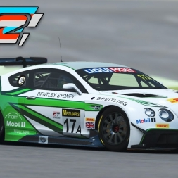 rFactor 2 - Bentley Continental GT3 at Silverstone (PT-BR)